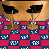 "Washington Nationals Carpet Tiles 18""x18"" tiles"