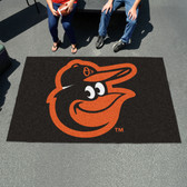 Baltimore Orioles Cartoon Bird Ulti-Mat 5'x8'