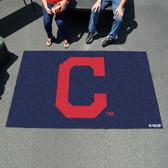 "Cleveland Indians ""Block-C"" Ulti-Mat 5'x8'"