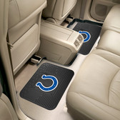 "Indianapolis Colts Backseat Utility Mats 2 Pack 14""x17"""