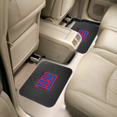 "New York Giants Backseat Utility Mats 2 Pack 14""x17"""