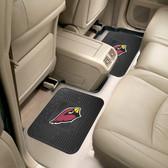 "Arizona Cardinals Backseat Utility Mats 2 Pack 14""x17"""