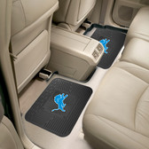 "Detroit Lions Backseat Utility Mats 2 Pack 14""x17"""