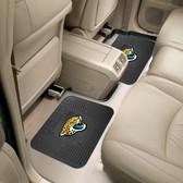 "Jacksonville Jaguars Backseat Utility Mats 2 Pack 14""x17"""