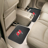"Tampa Bay Buccaneers Backseat Utility Mats 2 Pack 14""x17"""