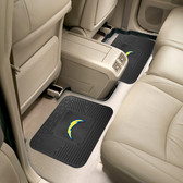 "San Diego Chargers Backseat Utility Mats 2 Pack 14""x17"""