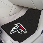 "Atlanta Falcons 2-piece Carpeted Car Mats 17""x27"""