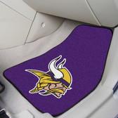 "Minnesota Vikings 2-piece Carpeted Car Mats 17""x27"""
