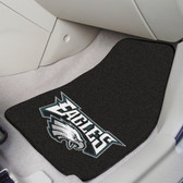 "Philadelphia Eagles 2-piece Carpeted Car Mats 17""x27"""