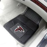 "Atlanta Falcons Heavy Duty 2-Piece Vinyl Car Mats 17""x27"""