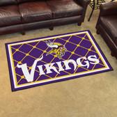 Minnesota Vikings Rug 4'x6'