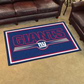 New York Giants Rug 4'x6'