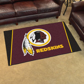 Washington Redskins Rug 4'x6'