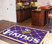 Minnesota Vikings Rug 5'x8'