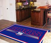 New York Giants Rug 5'x8'