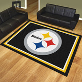 Pittsburgh Steelers 8'x10' Rug