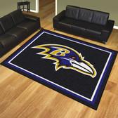 Baltimore Ravens 8'x10' Rug