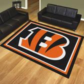 Cincinnati Bengals 8'x10' Rug