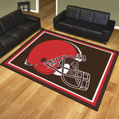 Cleveland Browns 8'x10' Rug
