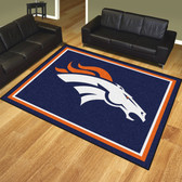 Denver Broncos 8'x10' Rug