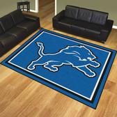 Detroit Lions 8'x10' Rug