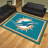 Miami Dolphins 8'x10' Rug
