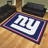 New York Giants 8'x10' Rug