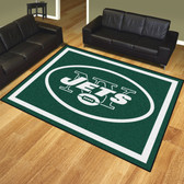 New York Jets 8'x10' Rug