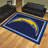 San Diego Chargers 8'x10' Rug