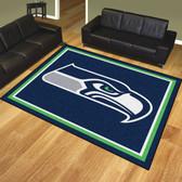 Seattle Seahawks 8'x10' Rug