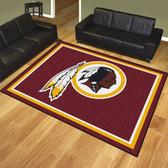 Washington Redskins 8'x10' Rug