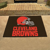 "Cleveland Browns All-Star Mat 33.75""x42.5"""