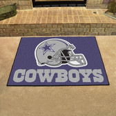 "Dallas Cowboys All-Star Mat 33.75""x42.5"""