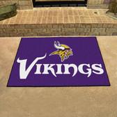 """Minnesota Vikings All-Star Mat 33.75""""x42.5"""""""
