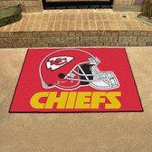 "Kansas City Chiefs All-Star Mat 33.75""x42.5"""