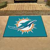 "Miami Dolphins All-Star Mat 33.75""x42.5"""