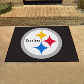 "Pittsburgh Steelers All-Star Mat 33.75""x42.5"""