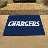 "San Diego Chargers All-Star Mat 33.75""x42.5"""