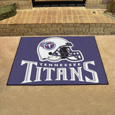"Tennessee Titans All-Star Mat 33.75""x42.5"""