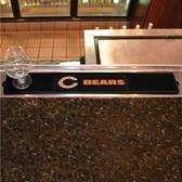 """Chicago Bears Drink Mat 3.25""""x24"""""""