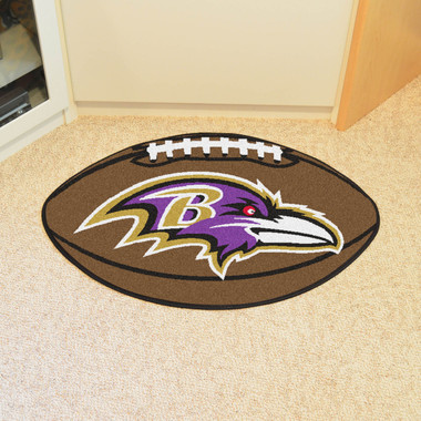 Baltimore Ravens Football Rug 20 5 Quot X32 5 Quot Biggsports