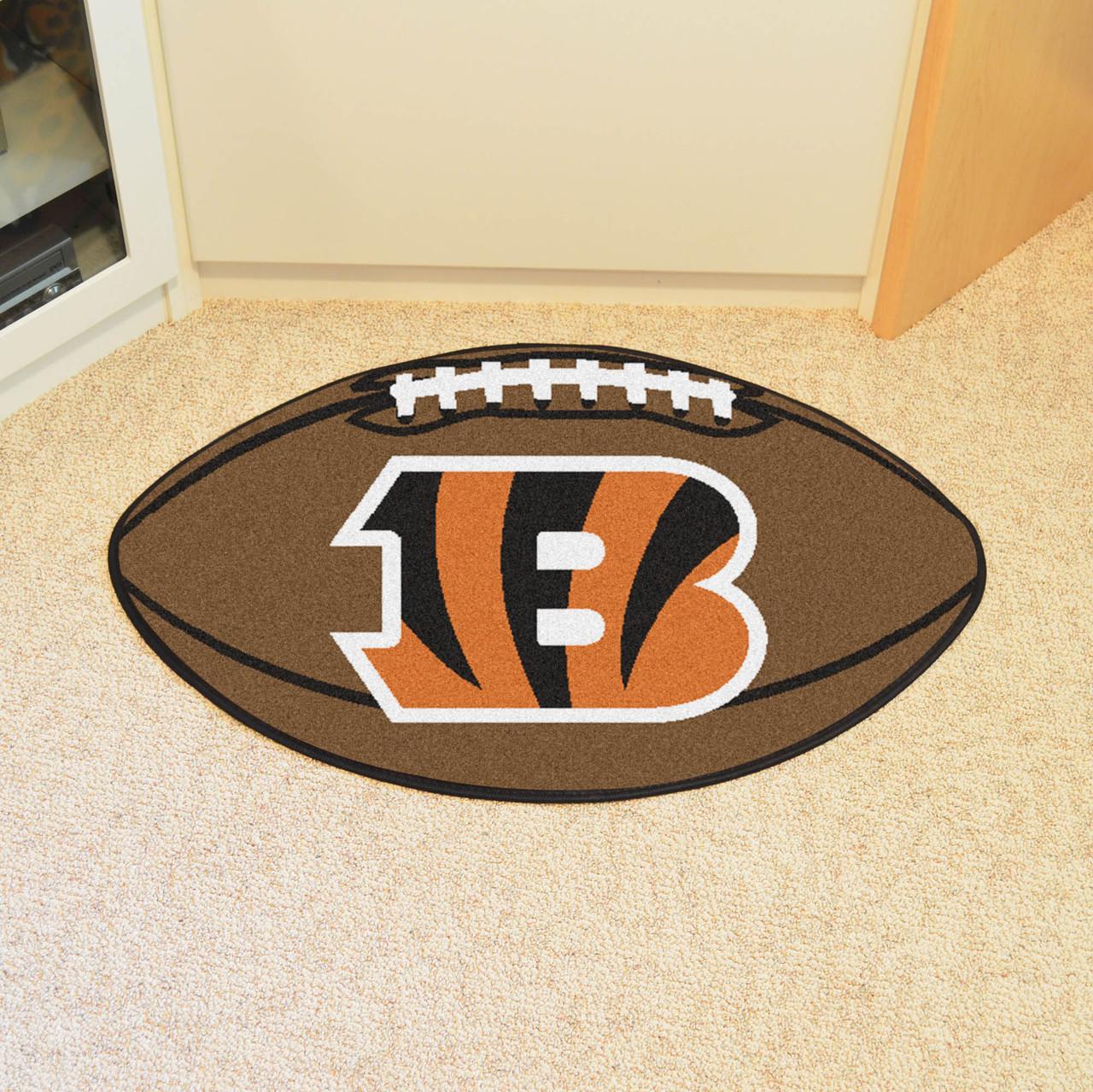 Cincinnati Bengals Football Rug 20 5 Quot X32 5 Quot Biggsports