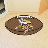 """Minnesota Vikings Football Rug 20.5""""x32.5"""""""