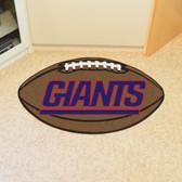 "New York Giants Football Rug 20.5""x32.5"""