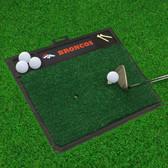 "Denver Broncos Golf Hitting Mat 20"" x 17"""