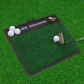 "Seattle Seahawks Golf Hitting Mat 20"" x 17"""
