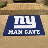 "New York Giants Man Cave All-Star Mat 33.75""x42.5"""
