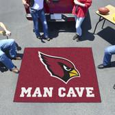 Arizona Cardinals Man Cave Tailgater Rug 5'x6'