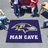 Baltimore Ravens Man Cave Tailgater Rug 5'x6'