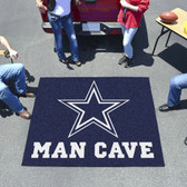 Dallas Cowboys Man Cave Tailgater Rug 5'x6'
